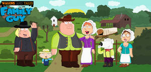 Wagons and Tales on Family Guy