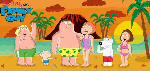 Bikini on Family Guy