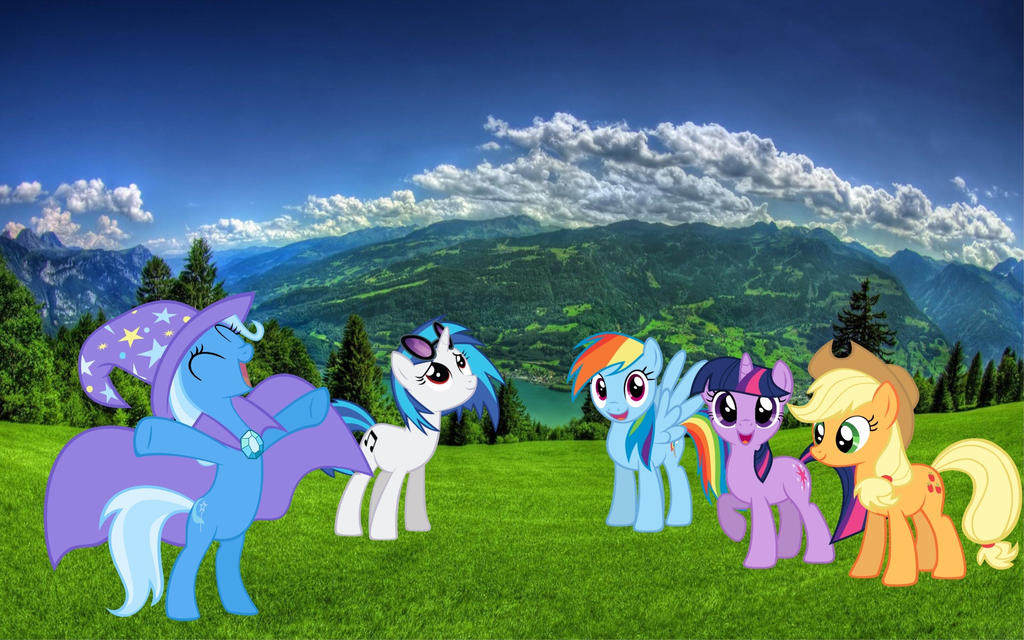 Wallpaper Pubg Real Life: MLP In Real Life Background By VinylS1250 On DeviantArt