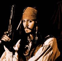Johnny Depp as Jack Sparrow by tribbs