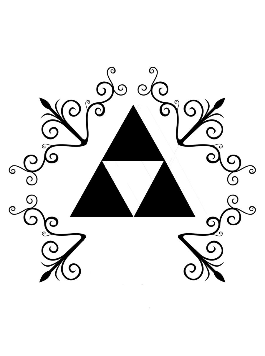 Triforce tattoo designs by dimebagdazz on deviantart - Triforce Tattoo Design Triforce Tattoo Design 2 By Svanam Triforce Tattoo Design 2 By Svanam