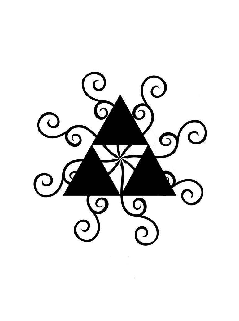 Triforce tattoo designs by dimebagdazz on deviantart - Triforce Tattoo Design Triforce Tattoo Design 3 By Svanam