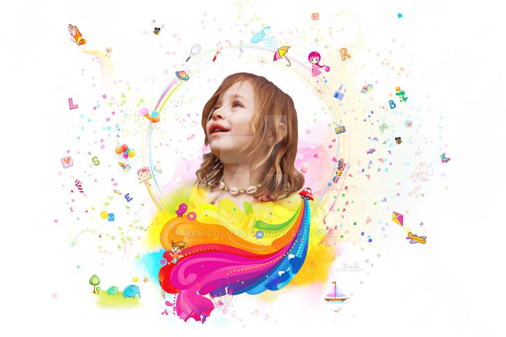 Childhood by manicolorz