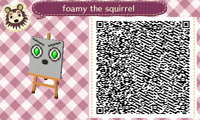foamy the squirrel by WhatGamersAreFor