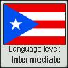 Puerto Rican Spanish Language Level INTERMEDIATE by WhatGamersAreFor