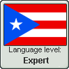 Puerto Rican Spanish Language Level EXPERT by WhatGamersAreFor
