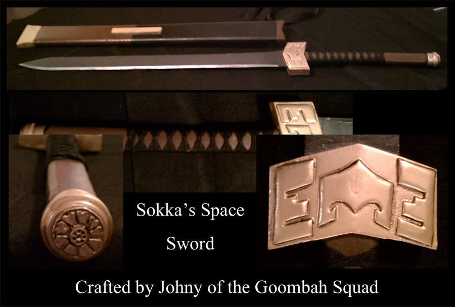 Sokka's Space Sword by Goomba-Squad