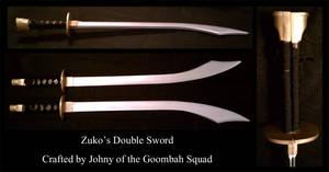 Prince Zuko's Double Swords