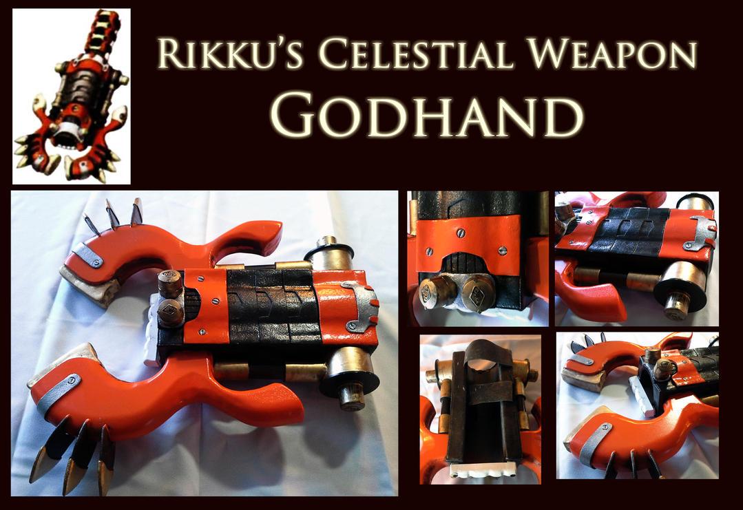 FFX Celestial Weapon - Rikku's Godhand by Goomba-Squad