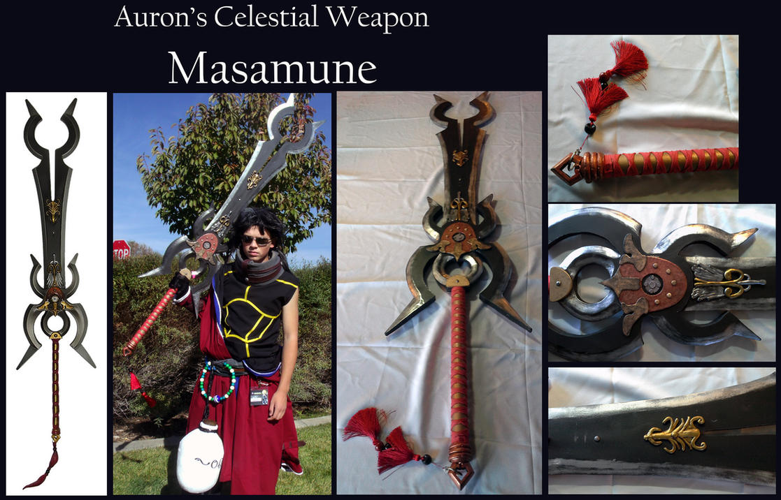 FFX Celestial Weapon - Auron's Masamune by Goomba-Squad