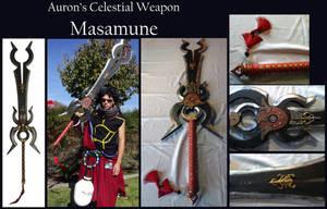 FFX Celestial Weapon - Auron's Masamune by Goomba-Squad
