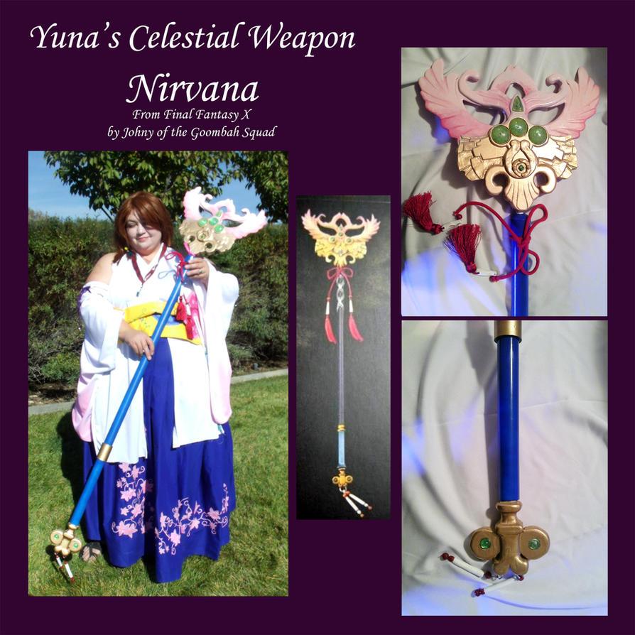 FFX Celestial Weapon - Yuna's Nirvana by Goomba-Squad on DeviantArt