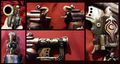 Steampunk Bonnie and Clyde - Derringer Details