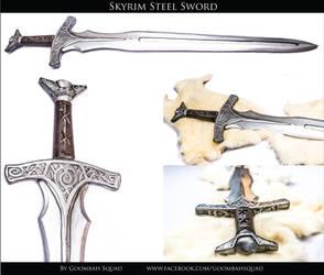 Skyrim Steel Sword