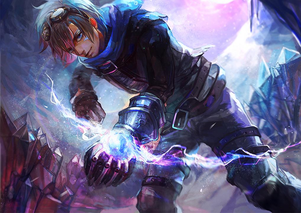 Leauge Of Legends Heros Ezreal
