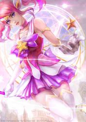 Fan Art ! Star Guardian Lux by OrekiGenya