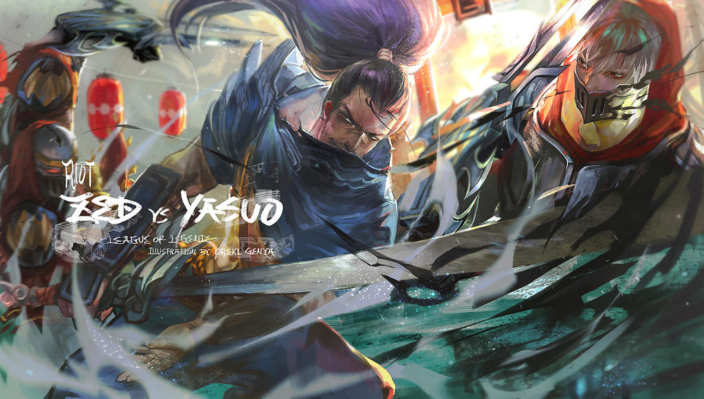 master yi vs yasuo - photo #10