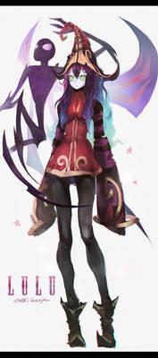 The Fae Sorceress LULU FanArt!