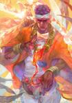 Muhammad Avdol X MAGICIAN RED