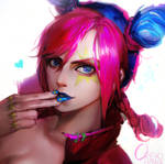 Jolyne by OrekiGenya