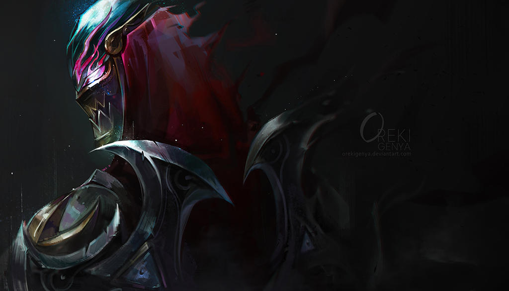 Zed Galaxy Slayer Wallpaper Hd 4k: LOL FanArt-ZED By OrekiGenya On DeviantArt