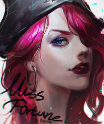 LOL FanArt MISS FORTUNE by OrekiGenya