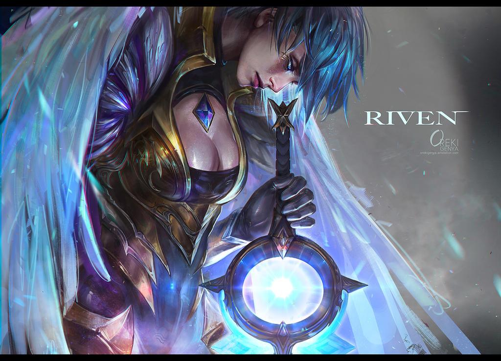 Dawnbringer Riven Fanart By Orekigenya On Deviantart