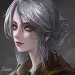 The Witcher - ciri FanArt