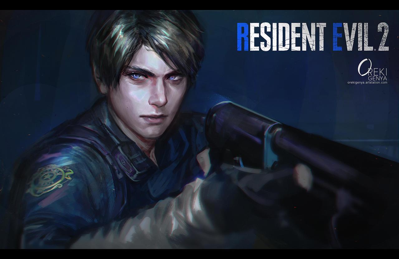 Resident Evil 2 Remake Fanart By Orekigenya On Deviantart