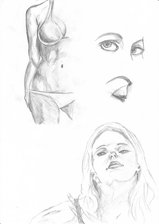 Female anatomy drawing by MeasTT on DeviantArt