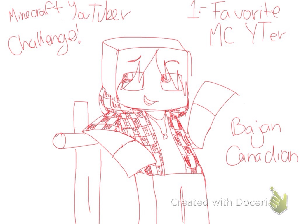 minecraft bajan canadian coloring pages - photo#12