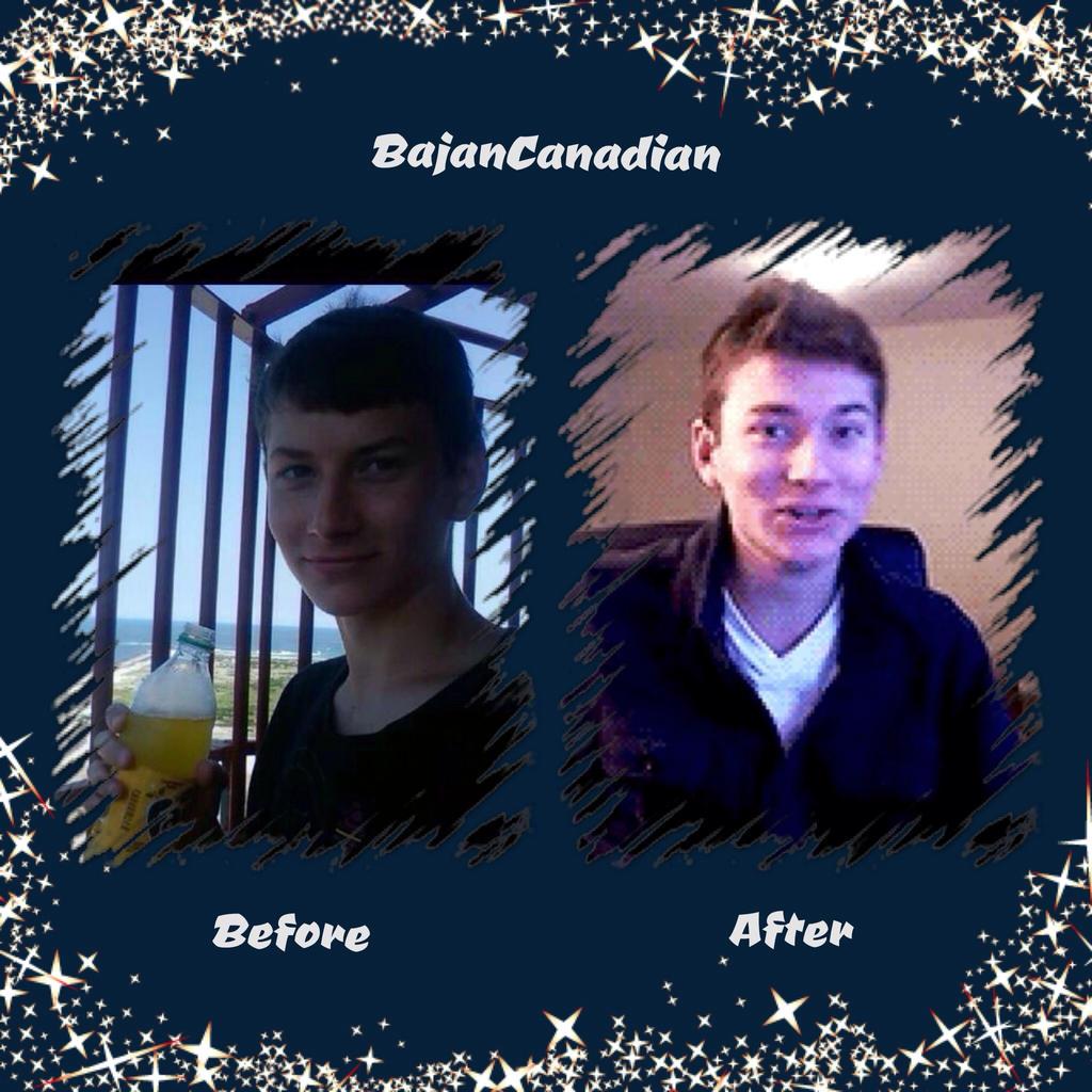 Bajancanadian And Jerome Fan Art Bajancanadian: before and