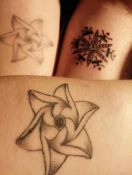mandala Tattoo - no photomontage