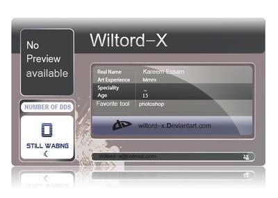 wiltord-x's Profile Picture