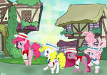 Just another day in Ponyville