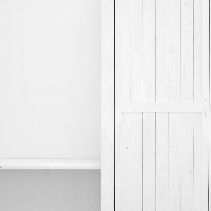 White Cabinet Door by AlexandruCrisan