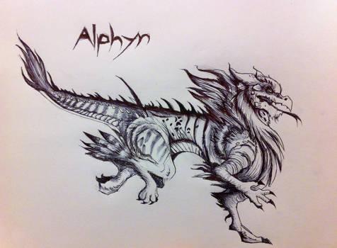 Alphyn Sketch