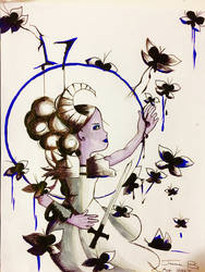 Deviant Art's 17th Birthday Scribble Challenge