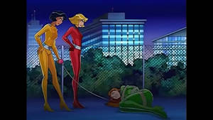 Sam Tied Up (Totally Spies)