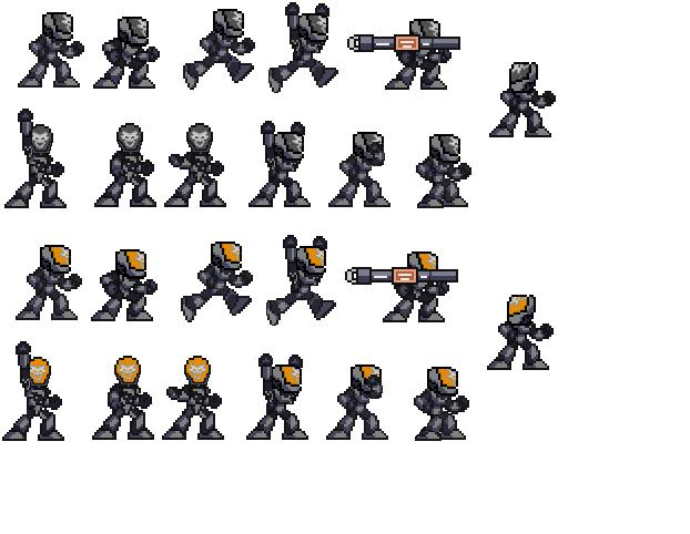 Emile Sprite Sheet_Dark Emile by DaveJay7 on DeviantArt