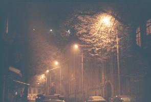 snowing by TamarBurduli