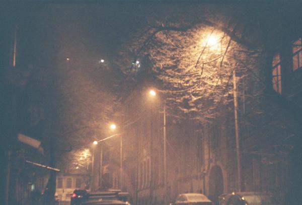 snowing by LemonLemonLemon