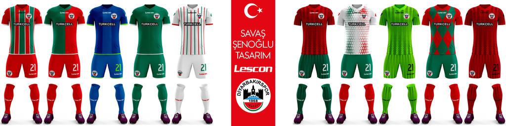 Diyarbakirspor Forma Tasarimi Savas SENOGLU by savassenoglutr