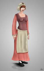 14th Century Woman