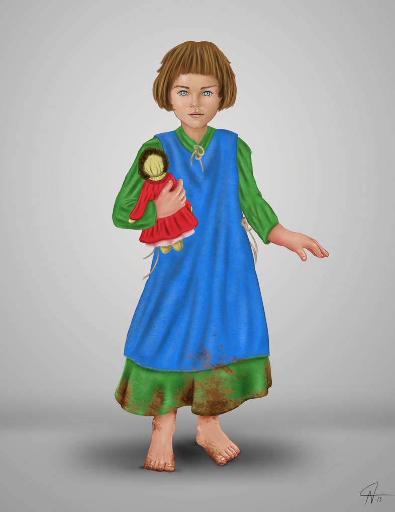 14th Century Girl by rotsentu