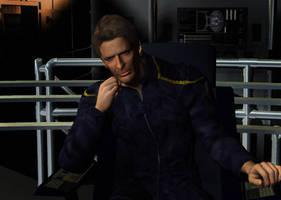 Captain on the Bridge by cowleyduck