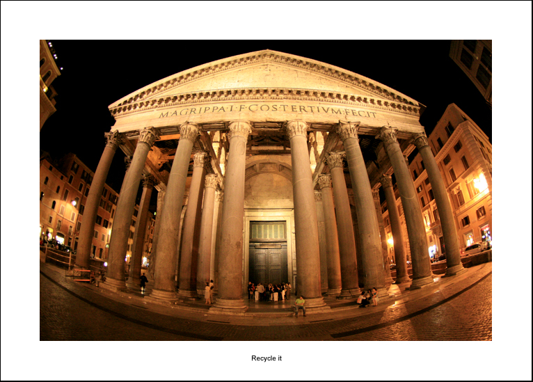Pantheon in fisheye version by recycleit