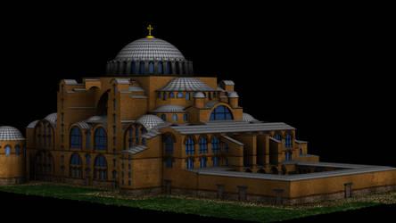 Hagia Sofia 3D