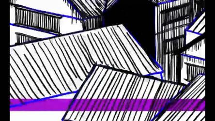 Video Screenshot - Drawing Kyoto 1155 AD TimeLapse