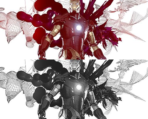 Iron man Iron_man_by_mateusv-d6b6plo